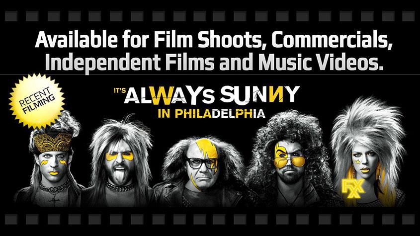 It's Always Sunny In Philadelphia Film Shoot