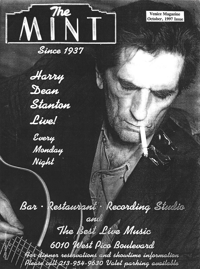 Harry Dean Stanton | Venice Magazine October 1997