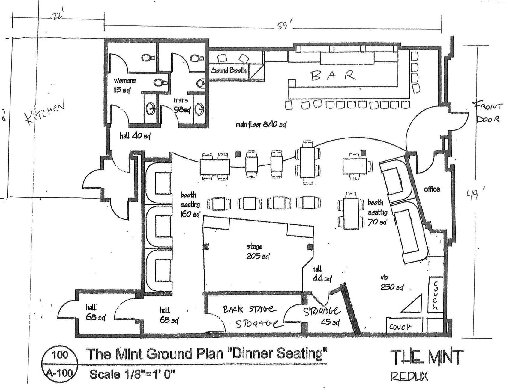 The Mint | Floor Plan