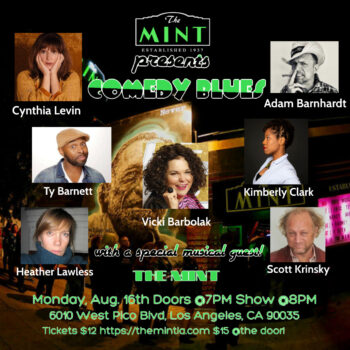 Comedy Blues at The Mint